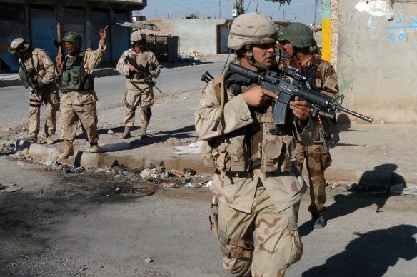 US patrol in Tal Afar, September 2005