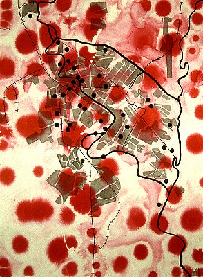 elin o'Hara slavick, Baghdad (1990)
