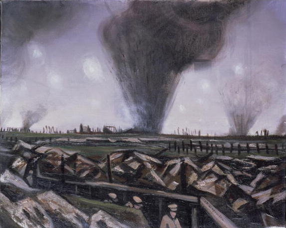 NEVINSON The strafing