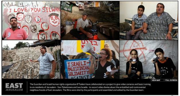 Living in East Jerusalem Video Diaries