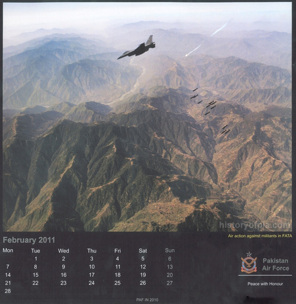PAF air strike in FATA