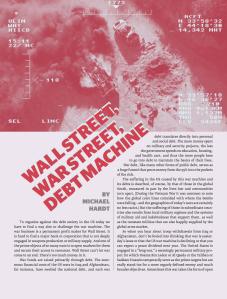 HARDT Wall Street, War Street