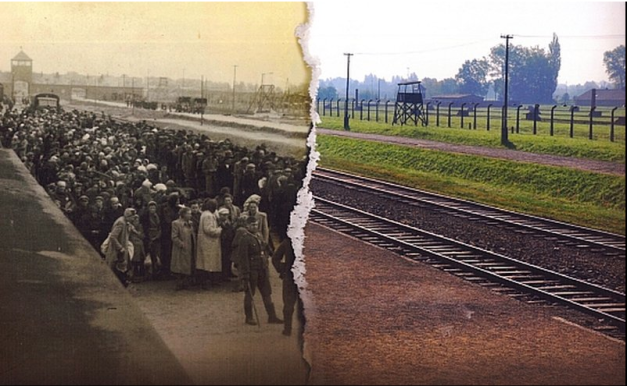 Auschwitz then and now