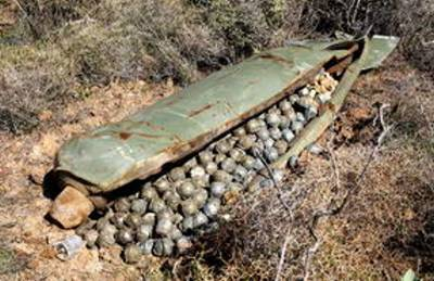 cluster-bombs full load