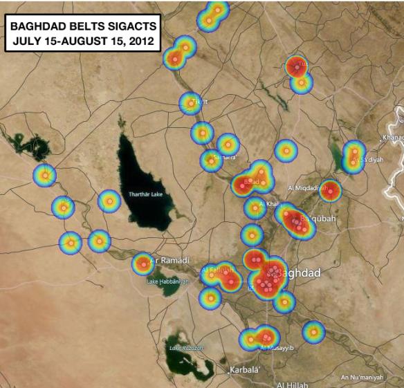 Baghdad Belts SIGACTS July-August 2012