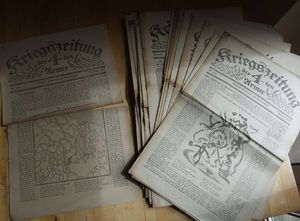 German 4th Army trench newspapers