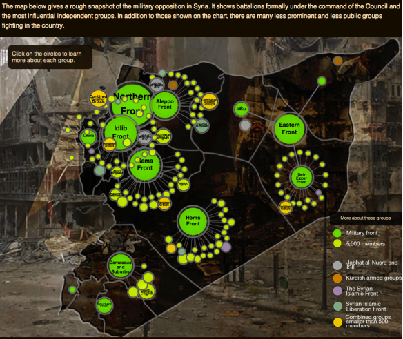 Mapping Syria's rebellion