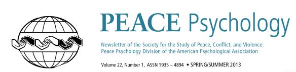 Peace Psychology