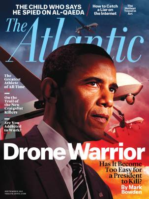 The Atlantic September 2013 Drone warrior