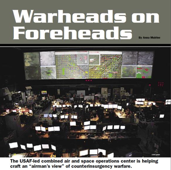 Warheads on foreheads