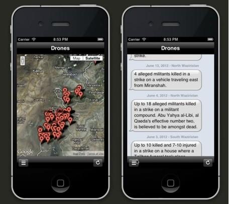 Drones+ app