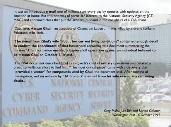 Hassan Ghul NSA intercepts