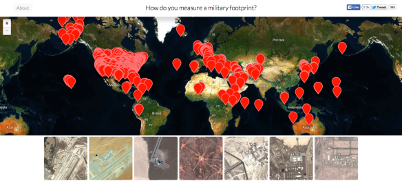 BEGLEY How do you measure a military footprint?