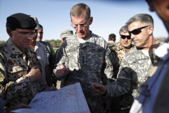 McChrystal visits Kunduz strike site  Sept 2009