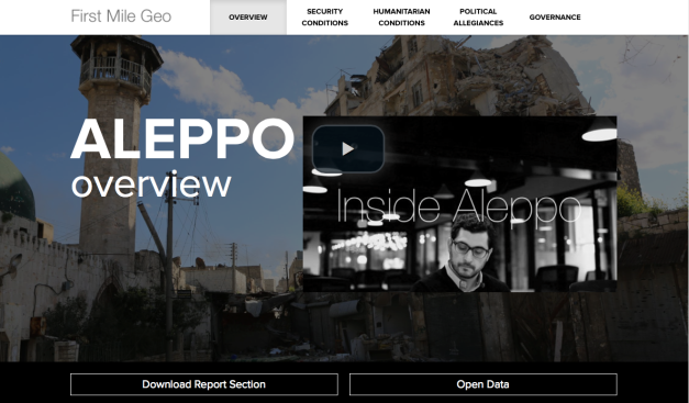 First Mile Geo ALEPPO