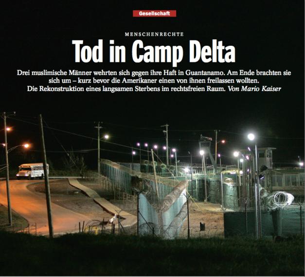 KAISER Tod in Camp Delta