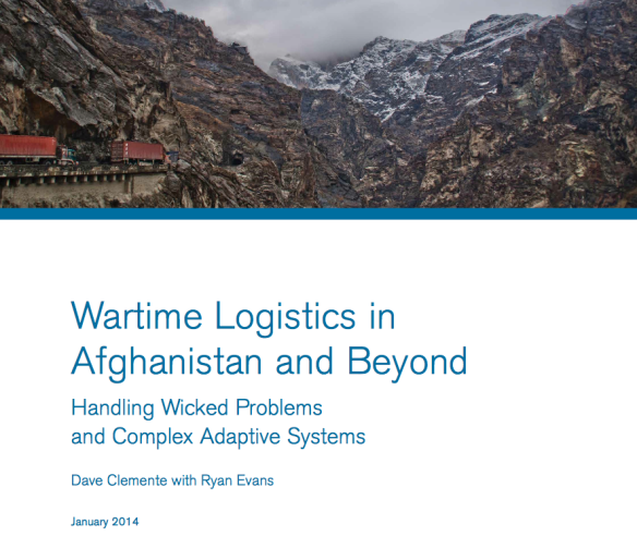 Wartime logistics in Afghanistan