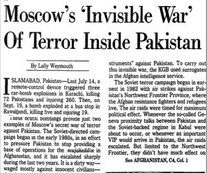 War of Terror inside Pakistan PNG