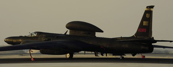 U-2 preparing for takeoff 'in SW Asia' (USAF/Eric Harris)