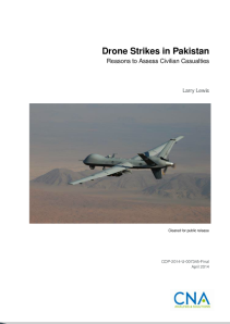 LEWIS Drone strikes in Pakistan