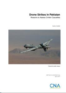 LEWIS Drone strikes in Pakistan