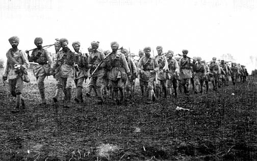 Indian troops at Ypres
