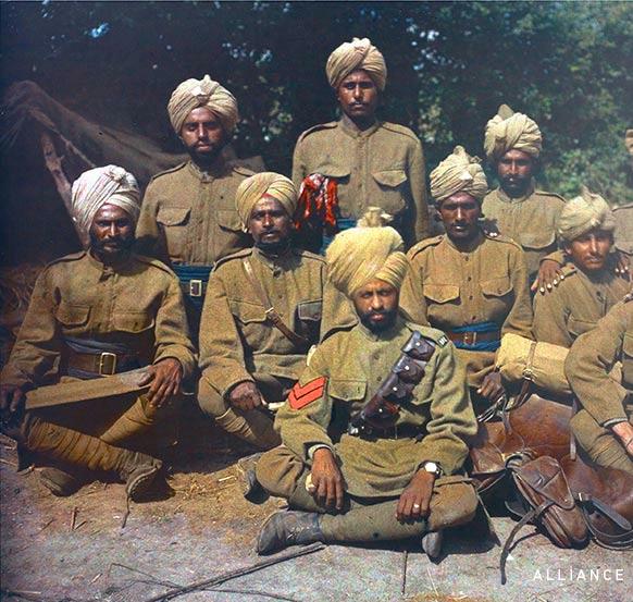 Sikhs WW1