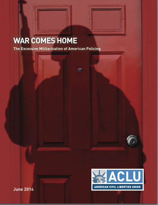 ACLU War comes home