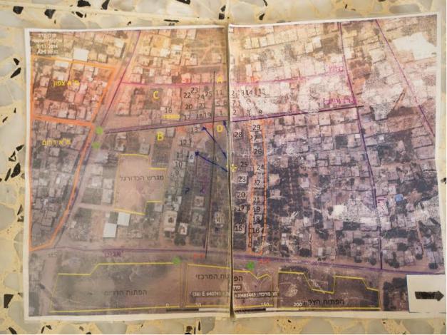 IDF Map Gaza