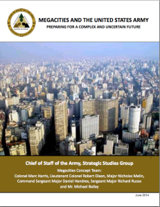 Megacities and the US Army