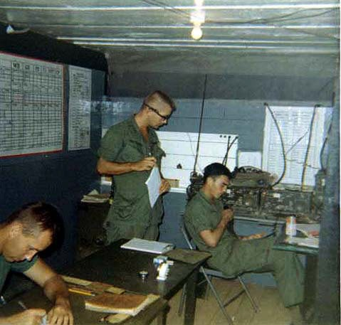 Artillery fire direction center Vietnam