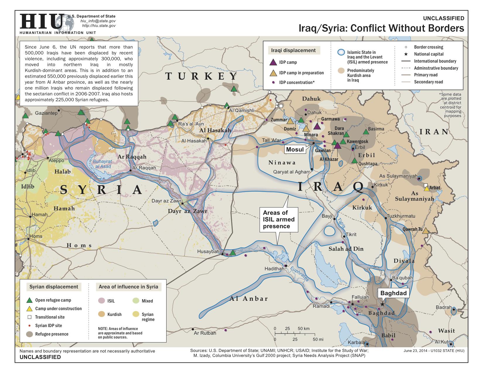 Help understanding the Syria conflict?