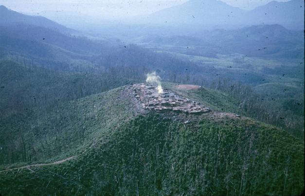 Firebase 6 Dak To Vietnam 1971