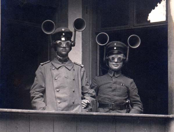 German 'sound radar' 1917