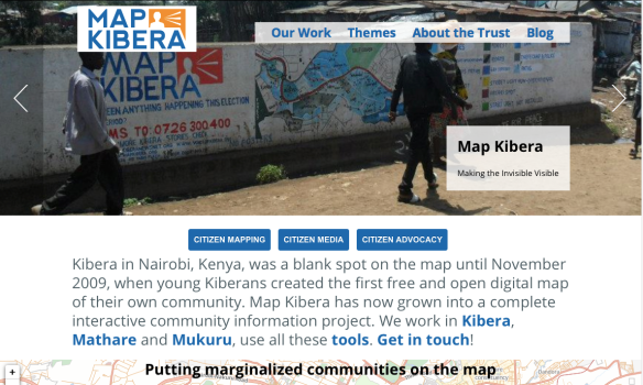 Map Kibera