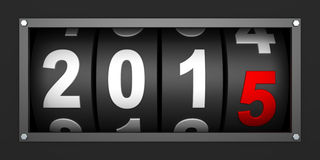 new-year-countdown-timer-d-render-45932159