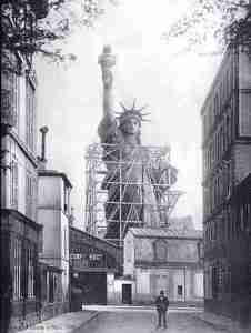 Construction of Statue of Liberty in Paris.com