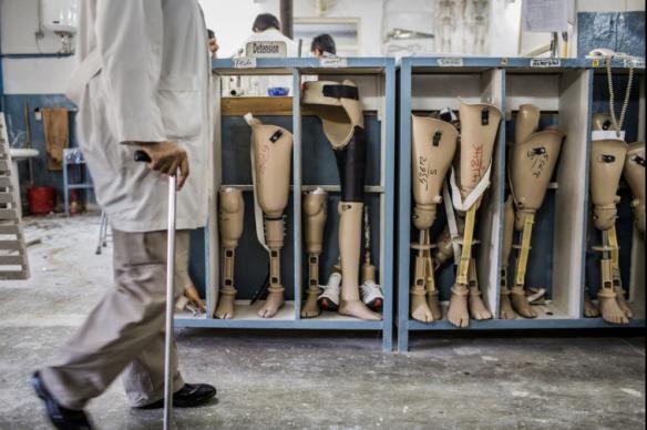 ICRC Orthopedic Center Kabul PNG