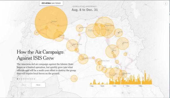 Iraq:Syria air strikes 4 August to 31 December 2014