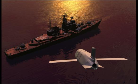 LRASM (Lockheed-Martin photo) PNG