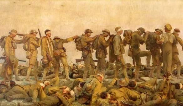 John Singer Sergeant, Gassed (1919)