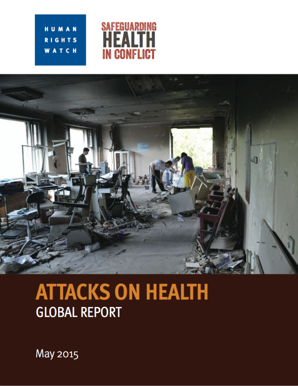 HRW Attacks on Health