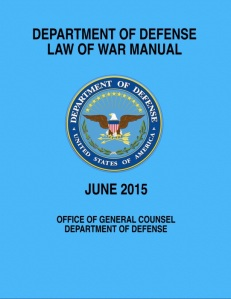 DoD Law of War Manual