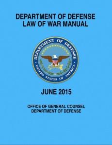 DoD Law of War Manual