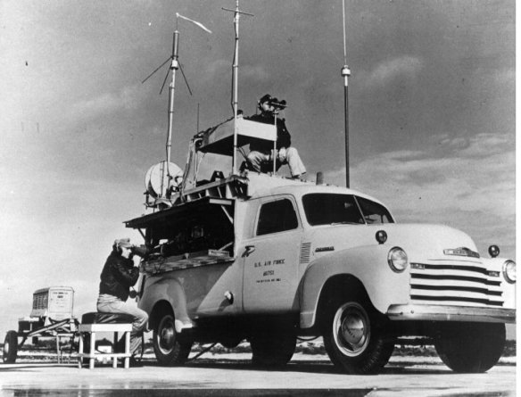 Ground control unit for B-17 drone