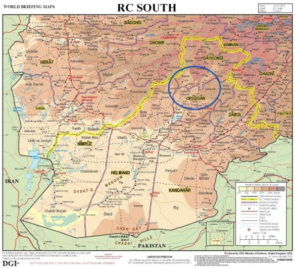 MAP isaf-rc-south