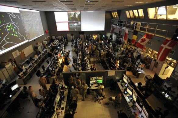 Combined Air and Space Operations Center (CAOC), Al Udeid Air Base, 2015