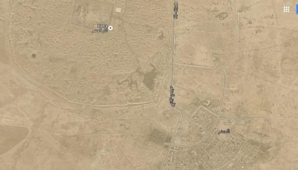 al Hatra map JPEG
