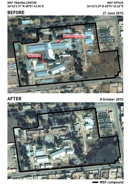 Bombing of Kunduz Trauma Center