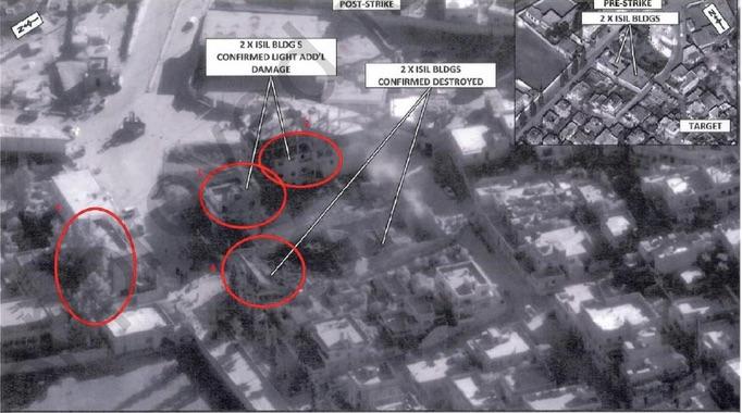 Harim Air Strike on Compound 001